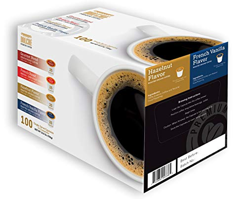 (Dolche Coffee 100 Count K Cups (4 Flavor Variety)