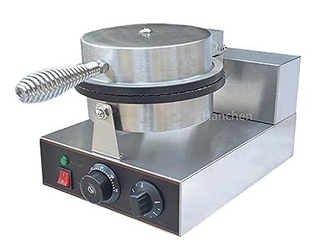 Hanchen FY-1A - Batidora eléctrica para Helado (teflón, Antiadherente, con Revestimiento Antiadherente), Acero Inoxidable, Negro, 110V: Amazon.es: Hogar