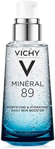 Vichy Mineral 89 Hydrating Hyaluronic Acid Serum and Daily Skin Booster, For Stronger, Healthier Looking Skin, 1.69 Fl. Oz.