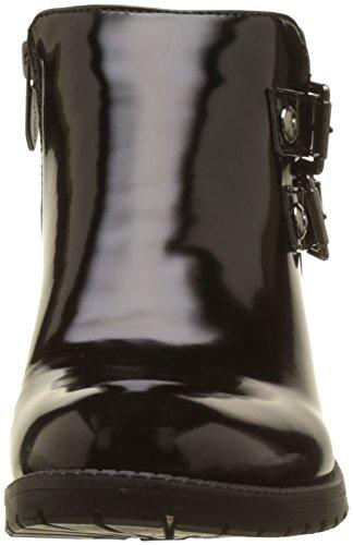 Polido nero Stivali Margot neri motociclista donna da da Chattawak 6ZFq5Cwx