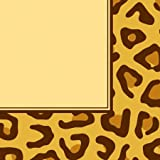 Creative Converting Animal Print Leopard Luncheon Napkins, 16 Count, Health Care Stuffs