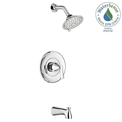 atfield Single-Handle 3-Spray Tub and Shower Faucet in Polished Chrome ()