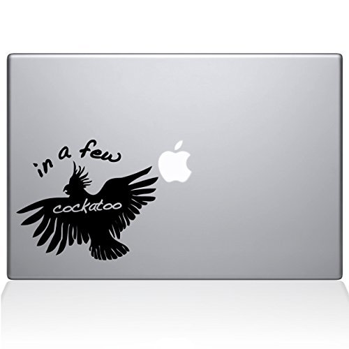 超人気 The Decal Pro Guru In a Few Cockatoo MacBook 15 Decal B07FHYGBS1 Vinyl Sticker - 15 Macbook Pro (2015 & older) - Silver (1097-MAC-15P-S) [並行輸入品] B07FHYGBS1, 丸福靴店-アメ横:9437829c --- a0267596.xsph.ru