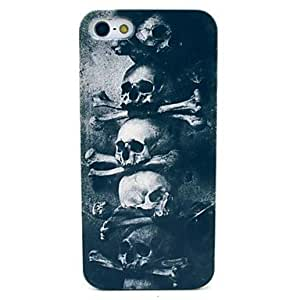 ZL Many Skull Pattern Hard Cover Case for iPhone 5/5S