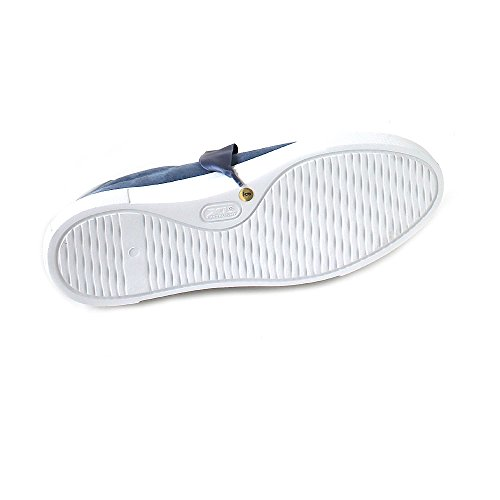 Schmenger amp; Kennel Plataforma Sweiss Azura de Piel Mujer Pearl Blau xHqRqdw
