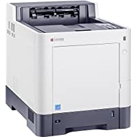 Kyocera 1102NS2US0 ECOSYS P6035cdn Color Network Printer, Fast Output Speed of 37 Pages per Minute in Color and Black, Maximum 2100 Sheet Paper Capacity to Keep Your Jobs Moving