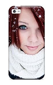 linJUN FENGEptehVF8085ntJme Case Cover Women Redheads Iphone 5c Protective Case