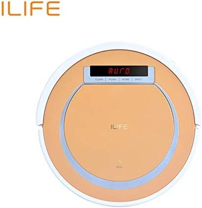 ILIFE V55 Robot Aspirador para el Hogar - Múltiples Modos de Limpieza   Puntos de Carga Automáticos   i-Dropping   Pantalla LCD   Control a Distancia   4 Modos de Limpieza (App iLife): Amazon.es: Hogar