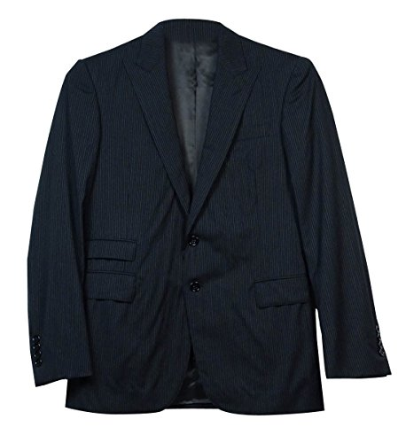 Ralph Lauren Black Label Men's 2PC Pinstripe Suit (38R, (Ralph Lauren Pinstripe Suit)