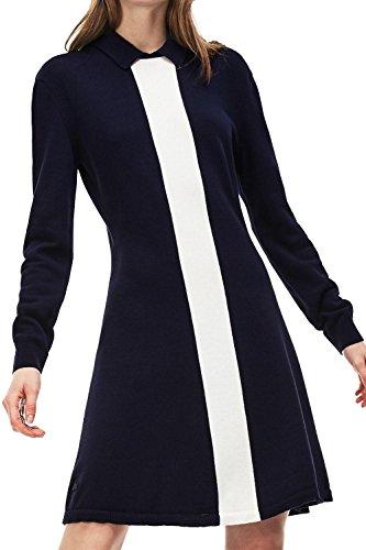 Lacoste Damen Lacoste Kleid Kleid Damen Blue Lacoste Damen Kleid Blue Blue ZZwdqr