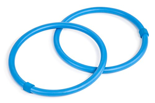 Trademark Innovations Set Of 2 Weighted Arm Hula Hoop Exercise Rings by