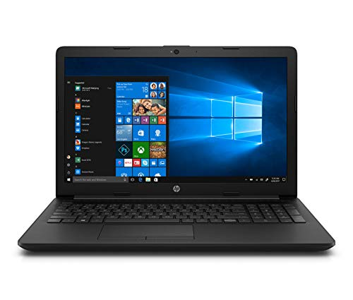 HP 15 10th Gen Intel Core i3 15.6-inch FHD Laptop (i3-1005G1/4GB/1TB/Win 10/MS Office/Jet Black/1.85kg), 15q-da3001TU