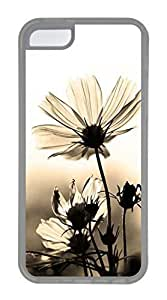 iPhone 5C Case, Customized Protective Soft TPU Clear Case for iphone 5C - Classic Photo Cover