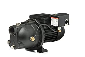 8. Red Lion PWJET50 Cast Iron Shallow Well Jet Pump Wells up to 25 Ft