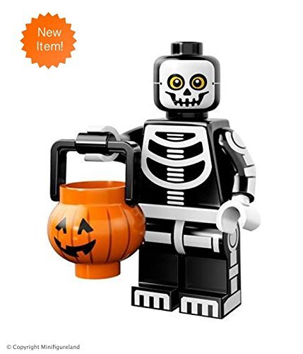 Lego Guy Costumes (LEGO Collectible MiniFigures: Series 14: #11 - Skeleton Guy)