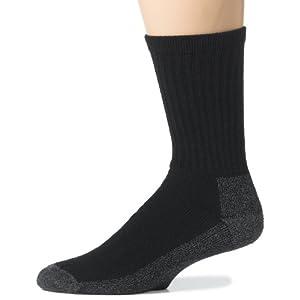 Wigwam Men's At Work 3-Pack Socks, Black, X-Large,Sock size : XL ( shoe Size : Men's 12-15)
