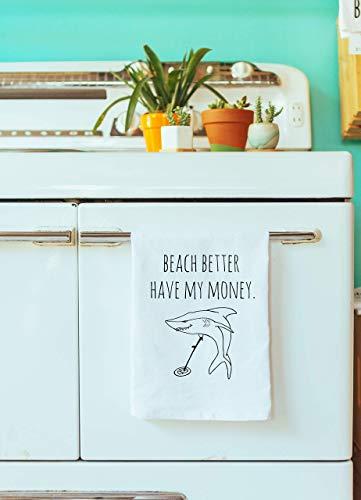 Fluent In Sarcasm Farmhouse Kitchen Decor Funny Dish Towel Gray Sweet Housewarming Gift Flour Sack Kitchen Towel Sagittarius