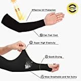 Achiou Arm Sun Sleeves UV Protection Cooling Men