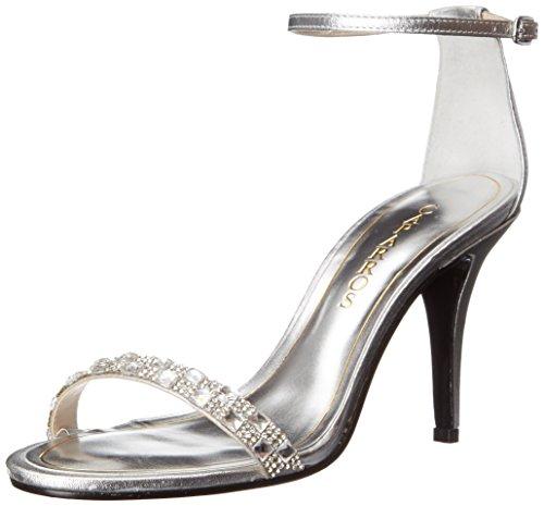 Caparros Womens Sequoia Dress Sandal Silver/Metallic VCcsJi