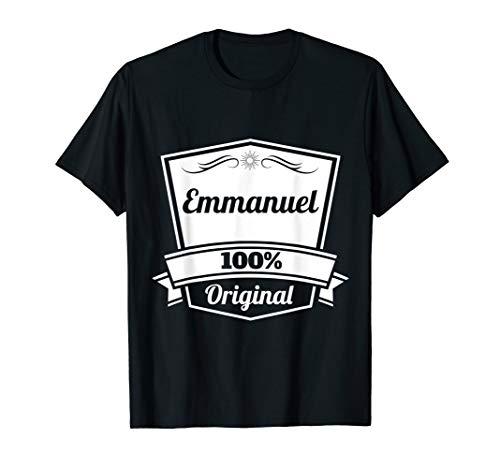 Emmanuel Gift / Emmanuel Personalized Name Birthday T-Shirt