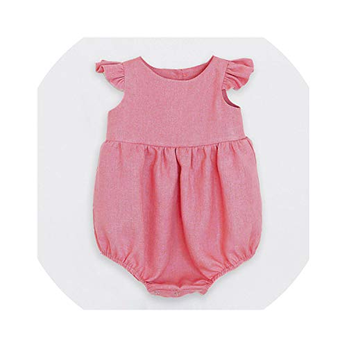 Baby Girls Kids Clothes Romper Newborn Sleeveless Solid