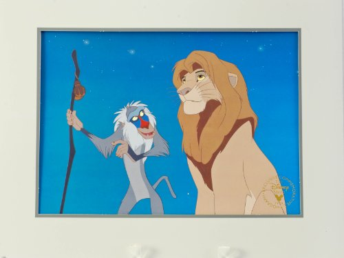- 1995 - Disney's - The Lion King - Exclusive Commemorative Lithograph - 11x14 Inch - Paper Mat - Full Color - Out of Print - New - Mint - Limited Edition - Collectible