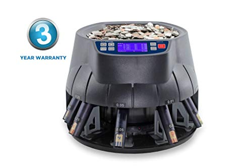 New AccuBANKER AB510 Coin Sorter/Coin Roller and Wrapper Machine (AB510)