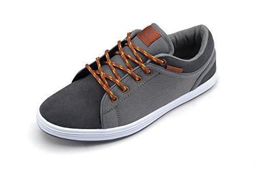 Loopt Koningen Nieuw Lichtgewicht Go Easy Walking Casual Heren Sneakers (r7283) Grijs