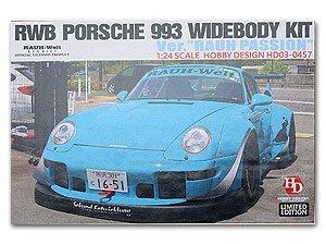 Hobby Design 1/24 Rwb Porsche 993 wide-body kit Rauh Passion HD03-0457