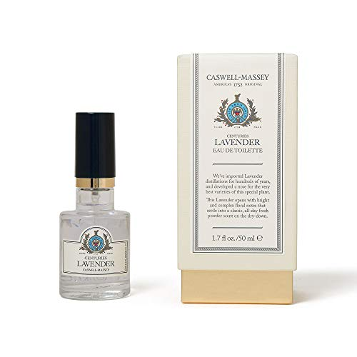 Caswell-Massey Centuries Lavender Eau De Toilette Perfume Spray - Floral Fragrance for Women, Made in USA - 1.7 Ounces