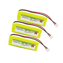 3Pack Cordless Phone Vtech BT28443 Replacement ni-mh battery 5/4AAAA 400mAh 2.4V