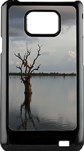 funda rigida for Samsung Galaxy S2 landscape ZEN Asia reflection on water