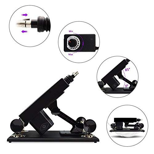 Automatic Adult Massage Machine Gun for Women with Attachments by MachineGuns (Image #2)