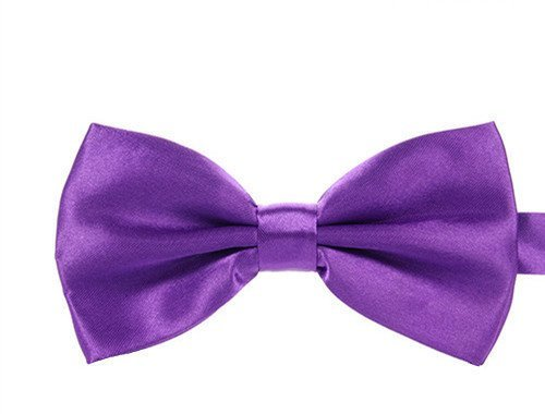 Red bow tie, Navy Blue Bow tie, purple bow tie, Black bow tie, Dark red Bow tie for wedding party, Anniversary party, Dinner party, Cocktail party, Birthday party, (Purple Color Bow Tie)