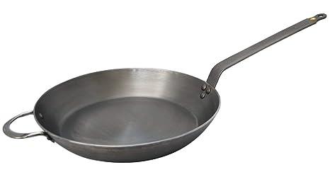 De Buyer Mineral B Element - Sartén de acero, 36 centímetros