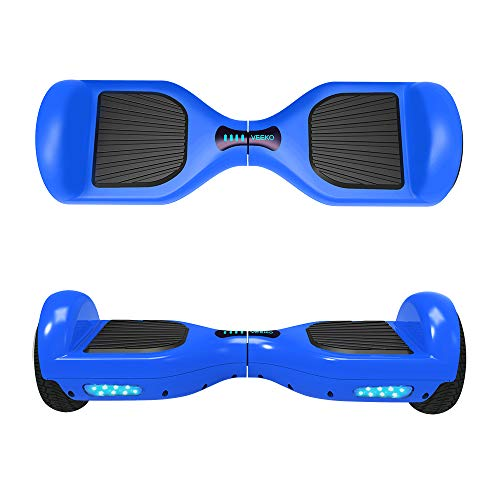 VEEKO Hover Board Self-Balancing Rechargeable Water Resistant Bluetooth Speakers UL 2272 Certified 6.5