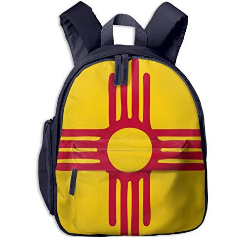 New Mexico State Animal - Horizon-t Adfjtys Backpack New Mexico State Flag Bag Canvas Backpack School Bag