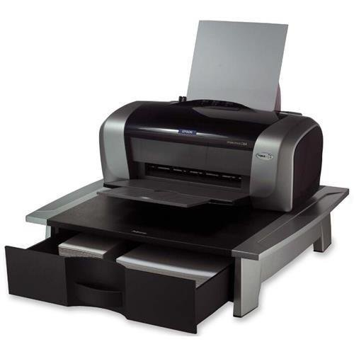 (Fellowes 8032601 Office Suites Printer Stand - 50 lb Load Capacity - 1 x Shelf(ves) - 5.3