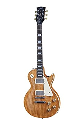Gibson USA LPTDM15ANNH1 Les Paul Traditional Mahogany Top Solid-Body Electric Guitar, Antique Natural