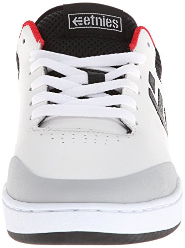 Etnies MARANA - Caña baja de cuero hombre Bianco (White/Black/Red)