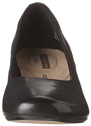 Leather Black Clarks Femme Chartli Rose Chaussure 4xcwTPqYOR