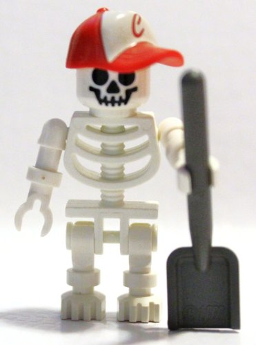 Lego Minifigure - Bones the Sporty (Sporty Bone)