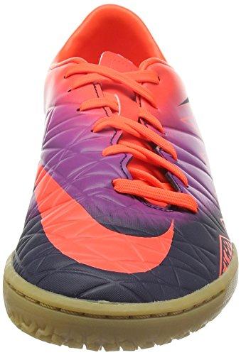 Nike Hommes Hypervenom Phelon Ii Ic Chaussure De Football Dintérieur Cramoisi / Obsidienne / Violet