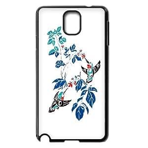 Hummingbird Art Pattern Hard Snap Phone Case For Samsung Galaxy Note 4 Case TSL317451