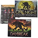 One Night Ultimate Werewolf and Daybreak Card Game BundleBONUS Expansion Pack 1