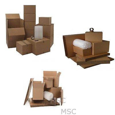Pequeño conjunto de 20 cajas caja de cartón casa Moving eliminación embalaje almacenamiento Kit: Amazon.es: Oficina y papelería