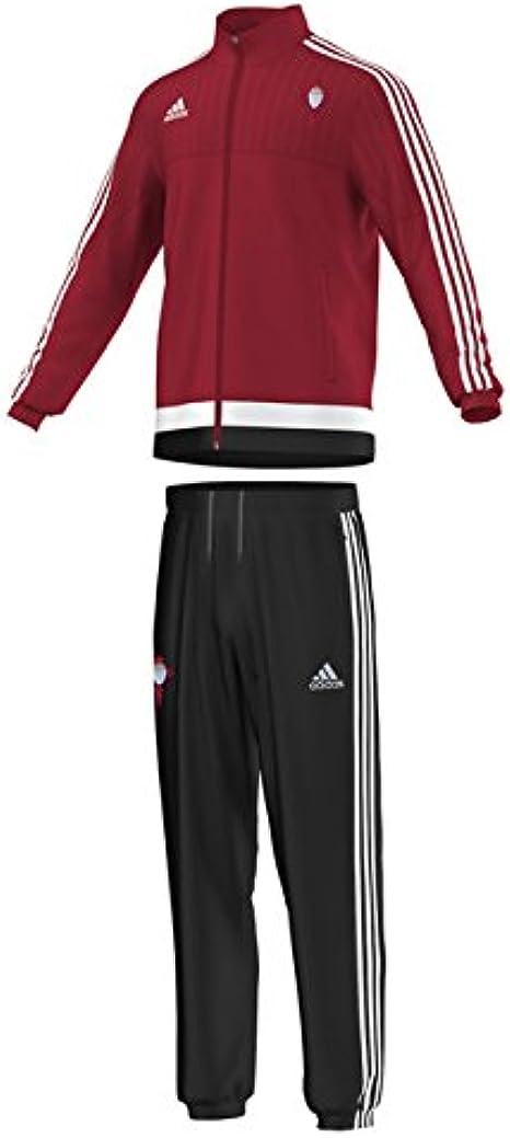 adidas Pre Suit Y - Chándal Celta de Vigo FC 2015/2016 para niño ...