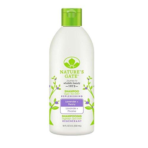 Nature's Gate Lavender + Peony Replenishing Shampoo, 18 Fluid Ounce