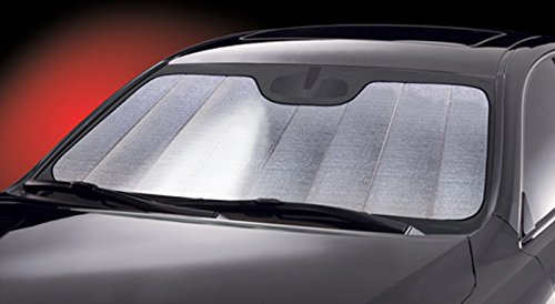 Intro-Tech FD-45-R Ultimate Reflector Custom Fit Folding Windshield Sunshade for select Ford F-100 Models, Silver