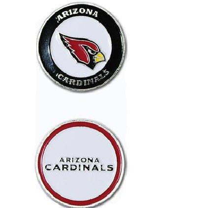 Arizona Cardinals両面ゴルフボールマーカーのみ   B00EX509U4